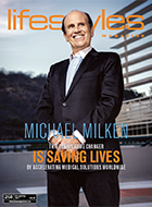"A new magazine article calls Mike a ""genius game changer who is saving lives."""