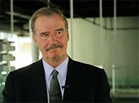 Click to view With Mexico's President Vicente Fox #2