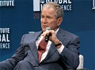 Click to view President George W. Bush at Global Conference