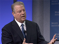 Click to view Al Gore at Global Conference