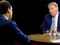 Click to view Mike and Charlie Rose talk public health