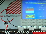 Click to view Mike Discusses Human Capital at The Russia Forum
