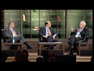 Click to view Turner, Pickens and Milken at the 2010 Global Conference